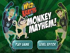 Fratii Kratt Mayhem cu Maimute