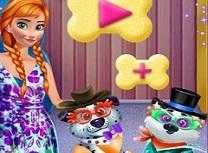 Frozen Anna Ingrijeste Catelul
