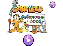 Garfield Carte de Colorat