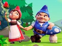 Jocuri cu Gnomeo si Julieta