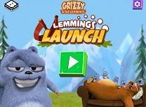 Grizzy si Lemingii Launch