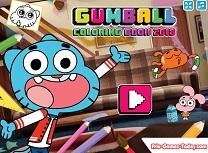 Gumball Carte de Colorat 2018
