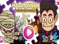 Halloween Puzzle cu Monstrii