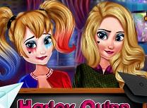 Harley Quinn Prima Zi in Scoala de Machiat