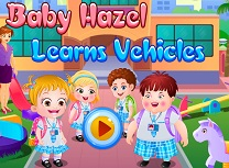 Bebelusa Hazel Invata Vehicule