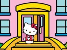 Hello Kitty Cutia cu Mancare