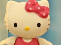 Hello Kitty la Plaja