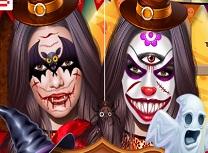 Kendall Jenner Arta Faciala de Halloween