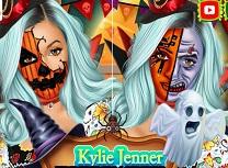 Kylie Jenner Arta Faciala de Halloween