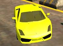 Drift cu Lamborghini