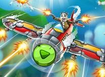 Panda Luptator Aerian