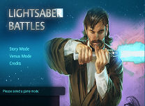 Lupte cu Sabia Laser