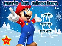 Mario Aventura pe Gheata