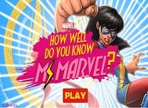 Cat de Bine Cunoasteti Supereroi Marvel