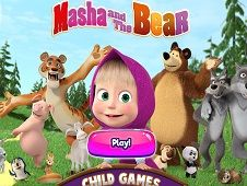 Masha si Ursul Jocuri pentru Copii