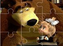 Masha si Ursul Jigsaw