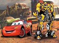 Fulger McQueen vs Transformers