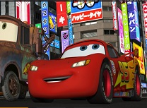 Fulger McQueen Litere Ascunse