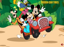 Mickey Mouse Roti de Masini Ascunse