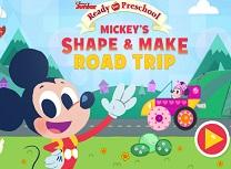 Mickey Calatorie cu Forme