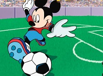 Mickey Mouse Febra Fotbal