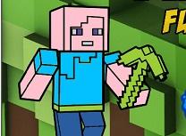 Minecraft Carte de Colorat Amuzanta