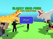 Blocky Parc cu Dinozauri T Rex
