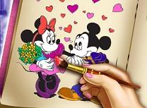 Minnie Carte de Colorat