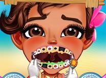 Bebelusa Moana la Dentist