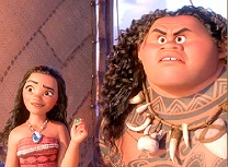 Maui si Moana Aventura