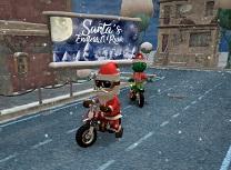 Mos Craciun cu Motocicleta