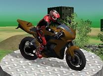 Incercari cu Motociclete 3D