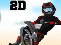 Motocicleta Curse pe Dealuri