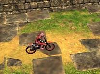 Motocicleta in Templu