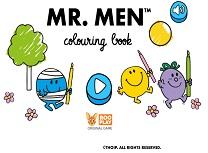 Mr Men Carte de Colorat