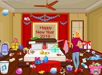 Curatenie in Dormitor de Anul Nou