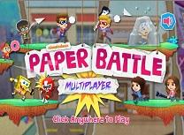 Nickelodeon Lupta cu Hartie