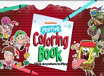Nickelodeon Festiv de Colorat