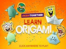 Nickelodeon Invata Origami
