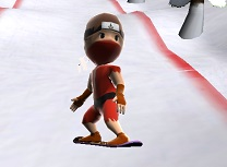 Ninja 3D pe Snowboard
