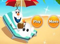 Olaf Vacanta pe Plaja