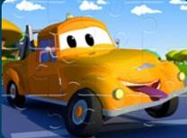 Orasul cu Camioane Puzzle