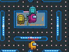 Pac-Man cu Among Us
