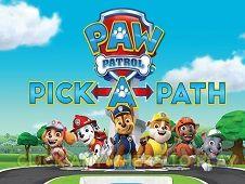 Paw Patrol Selecteaza Traseul