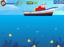 Pescuit de pe Vapor