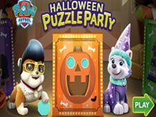 Petrecere Puzzle de Halloween