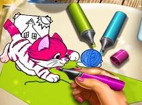 Animale Carte de Colorat