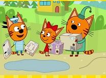 Trei Pisici Puzzle