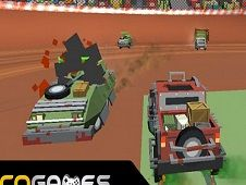 Pixel Car Crash Demolition
