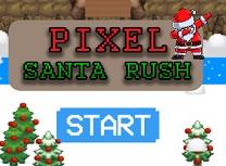 Santa Pixel Rush